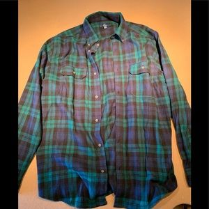 NEW! George flannel